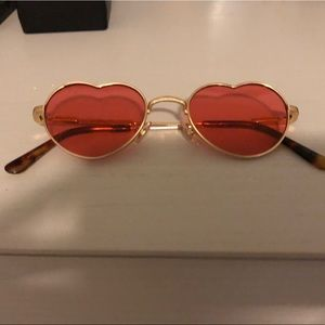 Vintage one of a kind heart shaped sunglasses